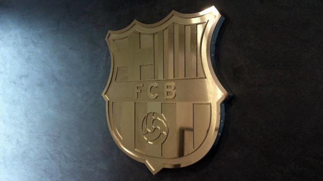 Escut del FC Barcelona.