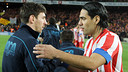 Leo Messi and Radamel Falcao PHOTO: MIGUEL RUIZ - FCB