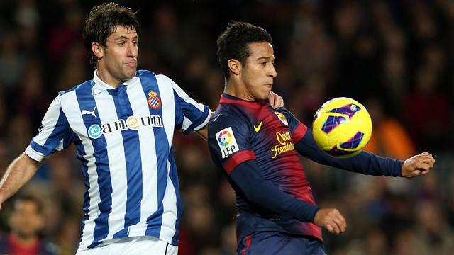 Derby at the Camp Nou. PHOTO: MIGUEL RUIZ-FCB