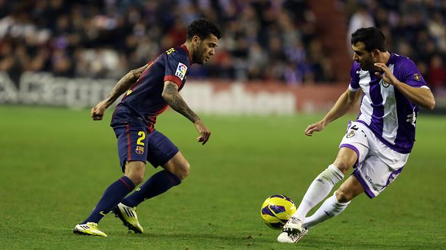 El Valladolid-Barça de la primera volta. FOTO: MIGUEL RUIZ-FCB.