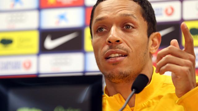 Adriano press conference PHOTO: MIGUEL RUIZ - FCB