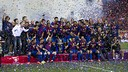 After the final against Bilbao - PHOTO: MIGUEL RUIZ-FCB.