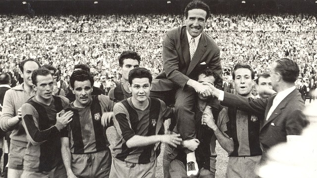 Helenio Herrera. PHOTO: Archive FCB