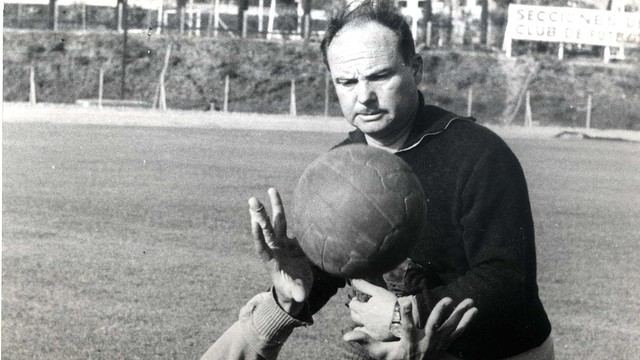 Vicenç Sasot. PHOTO: Archive FCB