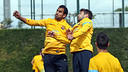 Montoya and Alba / PHOTO: MIGUEL RUIZ - FCB