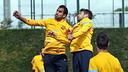 Montoya and Alba / PHOTO: MIGUEL RUIZ - FCB
