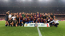 Le Bara vainqueurs en 2011 / PHOTO: MIGUEL RUIZ - FCB