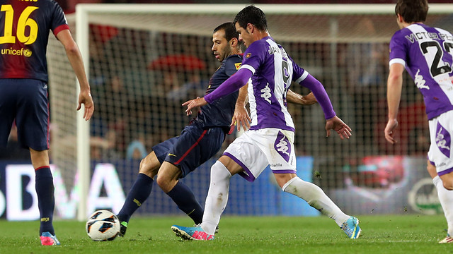 Mascheran o vs Valladolid: PHOTO:MIGUEL RUIZ-FCB