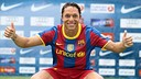 Adriano's three seasons with FC Barcelona