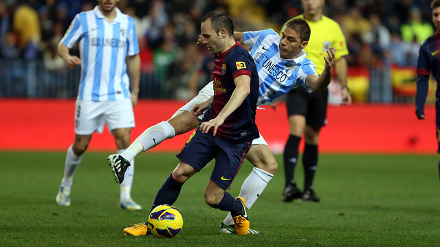 Iniesta PHOTO: MIGUEL RUIZ - FCB