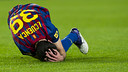 Cuenca, playing for  Barcelona / PHOTO: ARXIU FCB / FOTO: ARXIU FCB