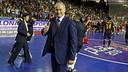 Marc Carmona, un cop acabat el matx / FOTO: MIGUEL RUIZ-FCB
