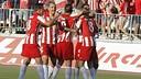 Almeria v Girona (3-0). FOTO: www.udalmeriasad.com