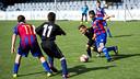 Un instant d'un dels partits / FOTO: ÀLEX CAPARRÓS - FCB