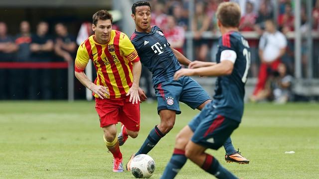 Messi, contra el Bayern. FOTO: MIGUEL RUIZ-FCB.