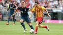 Leo Messi durant el partit contra el Bayern a l'Allianz Arena / FOTO: MIGUEL RUIZ - FCB