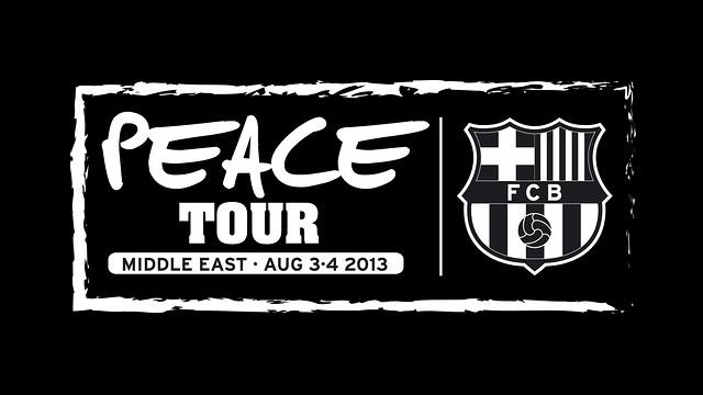 El Peace Tour es durà a terme després del Trofeu Joan Gamper