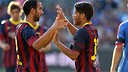 Montoya and Dos Santos. PHOTO: MIGUEL RUIZ-FCB.