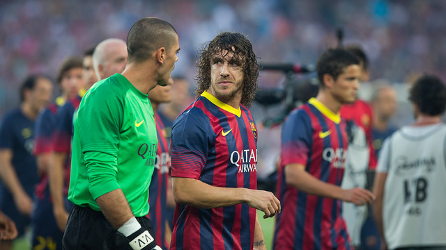 Carles Puyol / PHOTO: GERMÁN PARGA - FCB