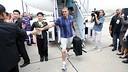 Barça arrives in Bangkok