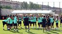 18 convocats per al primer partit de Lliga / FOTO: MIGUEL RUIZ - FCB