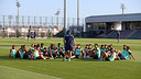 Martino gives instructions to his players / PHOTO: MIGUEL RUIZ - FCB