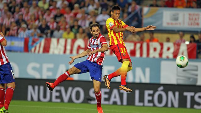 Neymar scores for Barça . PHOTO: MIGUEL RUIZ - FCB