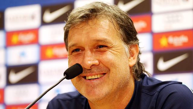 Tata Martino's press conference ahead of Sunday's match against Malaga / PHOTO: MIGUEL RUIZ - FCB