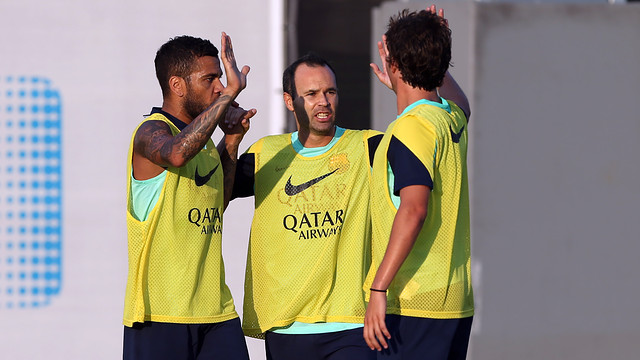 Barça prepare for another tough week / PHOTO: MIGUEL RUIZ - FCB