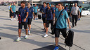 The team leaving Malaga / PHOTO: MIGUEL RUIZ - FCB