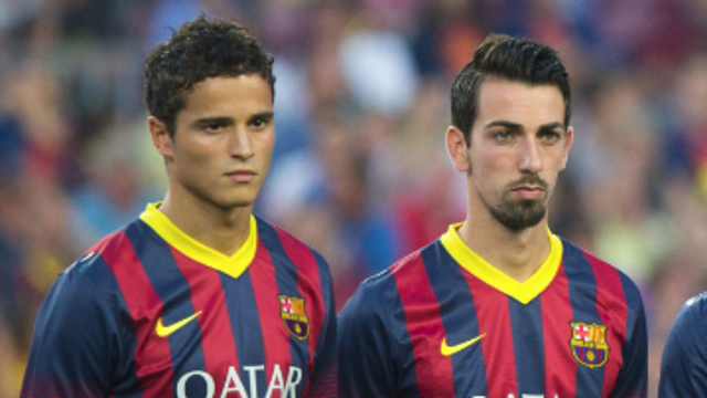 Ibrahim Afellay and Isaac Cuenca will wear the number 19 and 23 shirts / PHOTO: ARXIU FCB