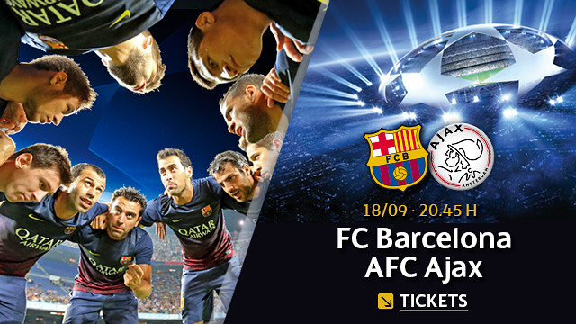 Entradas FC Barcelona Champions
