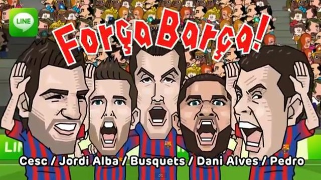 FC Barcelona on LINE