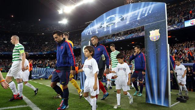 El Barça debuta dimecres a la Lliga de Campions, davant l'Ajax / FOTO: MIGUEL RUIZ - FCB