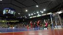 View of the Palau Blaugrana during the Futsal League Final 2012/13. PHOTO: FCB Archive