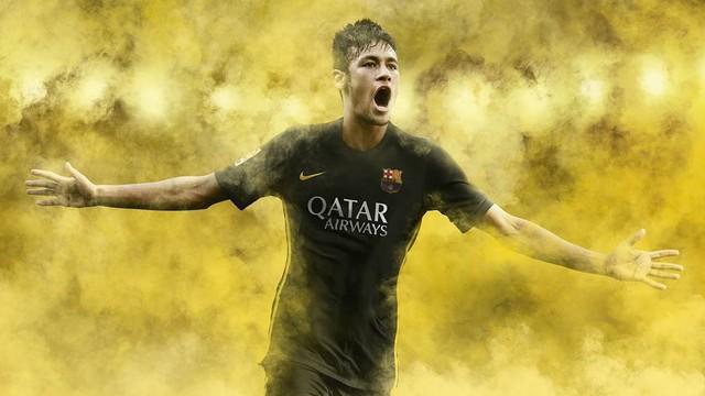 Neymar, with the third kit.