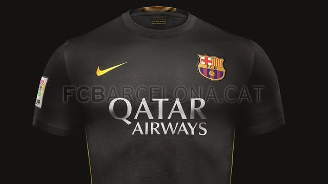 Sp13 FB Club Barca THIRD HERO 0418 C Optimized.v1379580523 Barcelonas black third kit is pretty classy