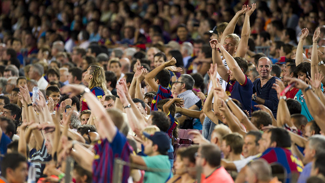 FC Barcelona will have plenty of support in Valencia. PHOTO: FCB ARCHIVE