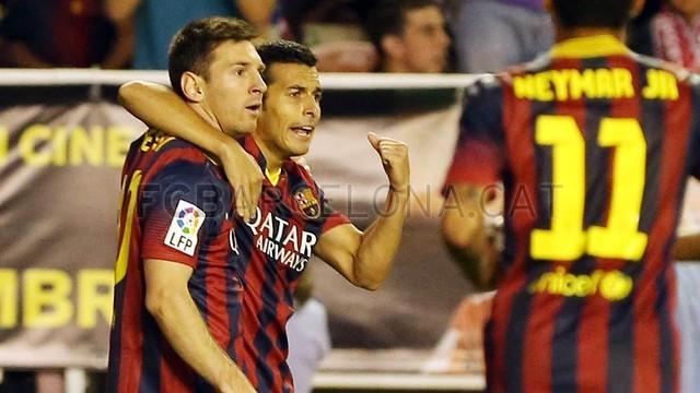 رایو والکانو ۰-۴ بارسلونا - خلاصه بازی + پخش آنلاین