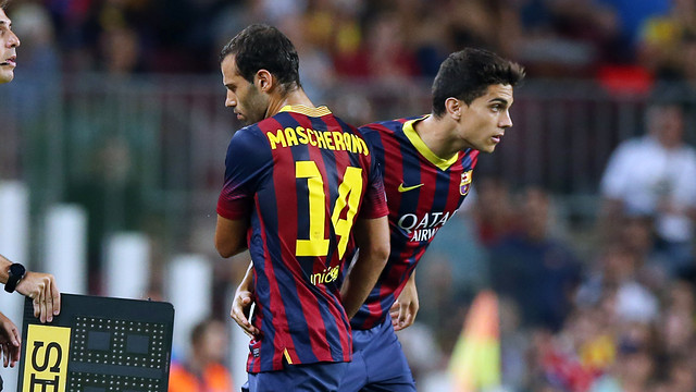 Mascherano / PHOTO: MIGUEL RUIZ - FCB
