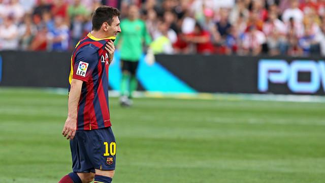 Messi - Magazine cover