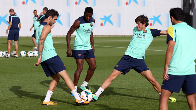 Barça return to the Champions League / PHOTO: MIGUEL RUIZ-FCB