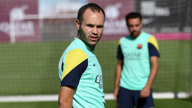 Iniesta / PHOTO: MIGUEL RUIZ-FCB