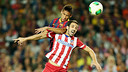 Neymar and Juanfran during the Supercup second leg / PHOTO: MIGUEL RUIZ-FCB