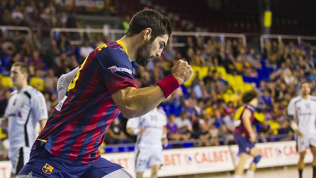 4083c6a0942 Barça s handball victory against Helvetia Anaitasuna   PHOTO  VÍCTOR  SALGADO - FCB