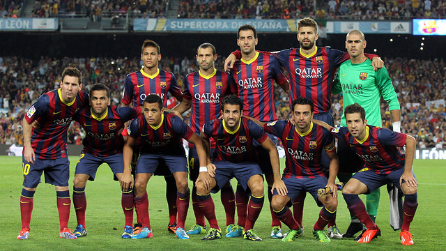 All of these players could be going to Brazil 2014 / PHOTO: MIGUEL RUIZ - FCB