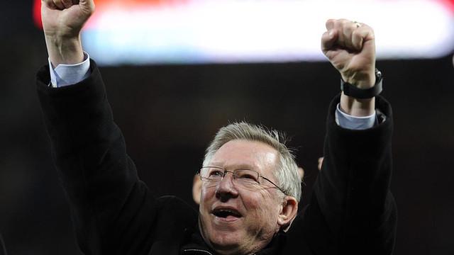 Sir Alex Ferguson / PHOTO: FCB