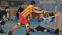 Pablo Álvarez scored two goals / PHOTO: FCB ARCHIVE
