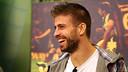 Gerard Piqué on the El Marcador show on Barça TV analysing the derby / PHOTO: MIGUEL RUIZ - FCB