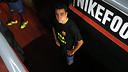 Xavi, abans de sortir a la gespa per jugar el derbi contra l'Espanyol / FOTO: MIGUEL RUIZ - FCB